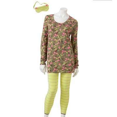 Candie's Girlie Girl Pajama Set - Juniors'