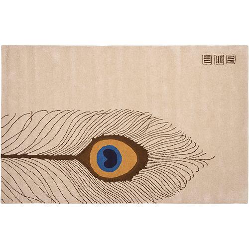 Safavieh Soho Peacock Feather Rug - 7'6