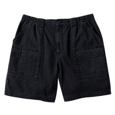 Croft and Barrow Twill Side-Elastic Cargo Shorts - Big and Tall