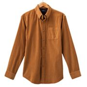 Croft and Barrow Corduroy Casual Button-Down Shirt