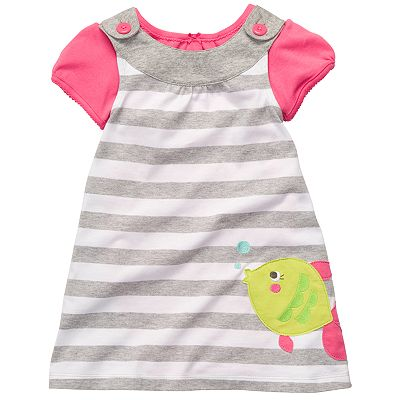 Carter's Striped Fish Jumper and Bodysuit Set - Toddler