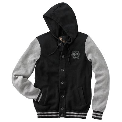 Helix Varsity Hooded Sweater - Men