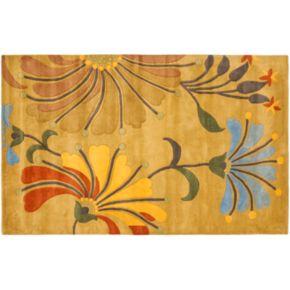 Safavieh Soho Golden Olive Floral Rug - 5' x 8'