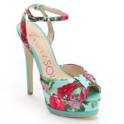 HeartSoul Tito Peep-Toe Platform High Heels - Women