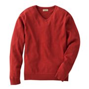 SONOMA life + style Solid V-Neck Sweater - Big and Tall