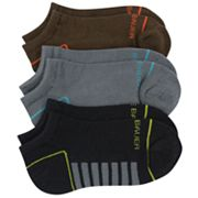 Eddie Bauer 3-pk. Technical No Show Socks - Boys 7-11