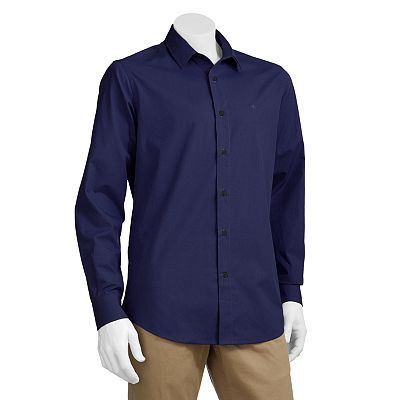 Dockers Classic-Fit Stain Defender Casual Button-Down Shirt