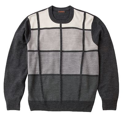 Dockers Ombre Patchwork Sweater - Big and Tall