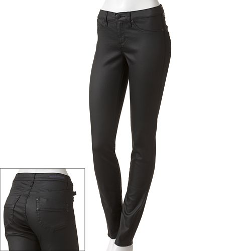 Rock & Republic® Kashmiere Coated Twill Leggings