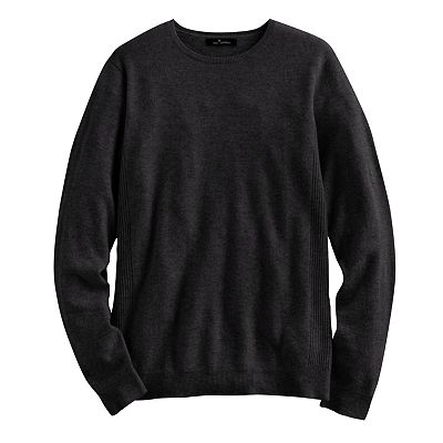 Marc Anthony Solid Cashmere Sweater - Big and Tall