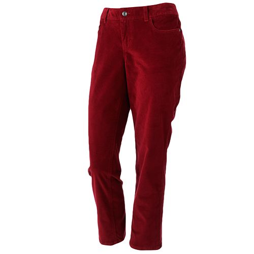 SONOMA Goods for Life™ Modern Fit Skinny Corduroy Pants