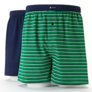 Chaps 2-pk. Striped Knit Boxers