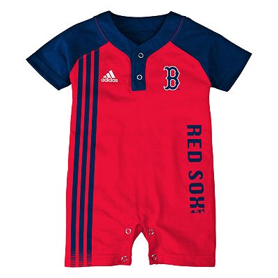 adidas Boston Red Sox Romper - Infant