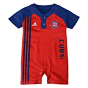 adidas Chicago Cubs Romper - Infant