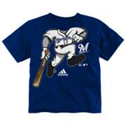 adidas Milwaukee Brewers Pinch Hitter Tee - Baby