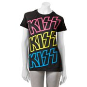 Kiss Colorful Logo Tee - Juniors