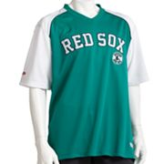 Stitches Boston Red Sox St. Patty's Day MLB Jersey - Men