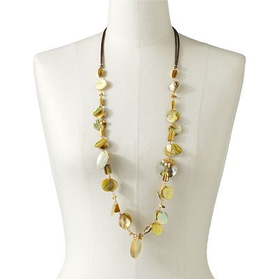 SONOMA life + style Bead Long Necklace