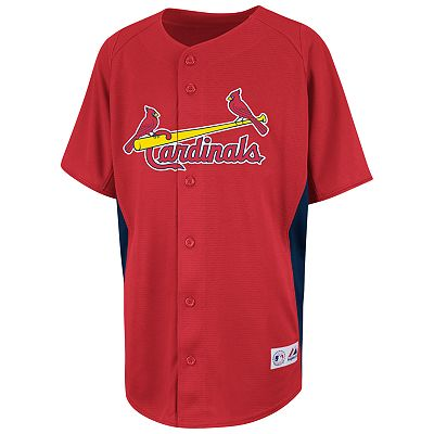 Majestic St. Louis Cardinals MLB Jersey - Boys 8-20