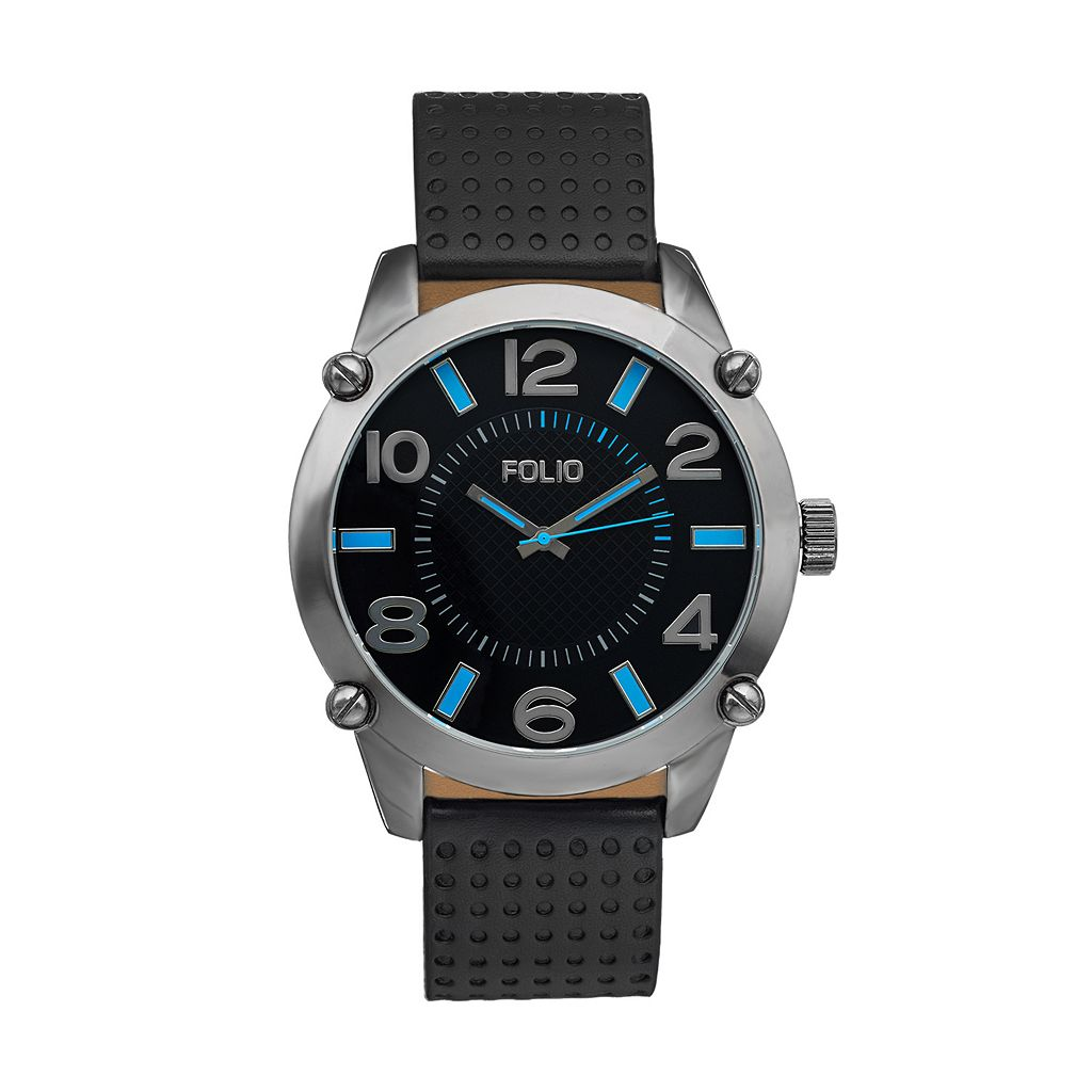 Folio Men's Oversized Watch