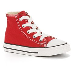 5800dcc37258 Baby   Toddler Converse Chuck Taylor All Star High-Top Sneakers. Red Optic  White