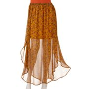 Kandy Kiss Sheer Maxi Skirt - Juniors
