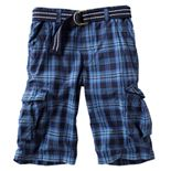 Boys 8-20 & Husky Urban Pipeline? Plaid Messenger Cargo Shorts