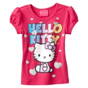 Hello Kitty Glitter Heart Top - Toddler