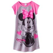 Disney Mickey Mouse and Friends Minnie Mouse Nightgown - Girls