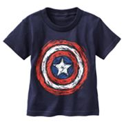 Captain America Shield Tee - Toddler