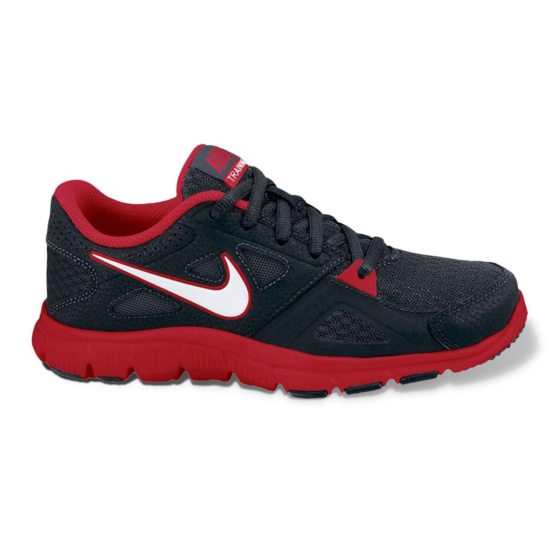 Nike Black Flex Supreme TR Wide Training Shoes - Boys