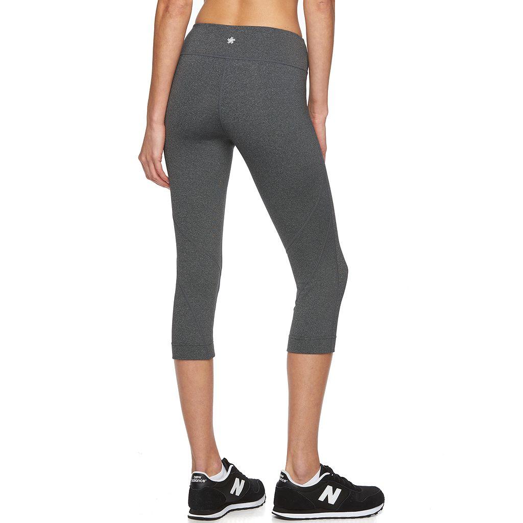 Women's Tek Gear® Core Essentials Shape Capri Yoga Leggings