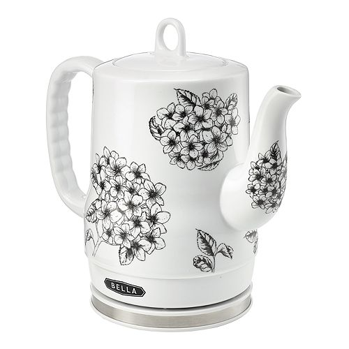 Bella Floral-Print Electric Kettle