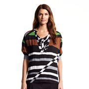 Derek Lam for DesigNation Striped Colorblock Top
