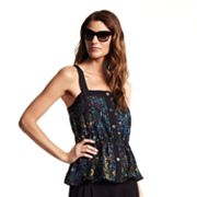 Derek Lam for DesigNation Splatter Peplum Top