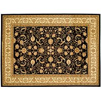 Safavieh Lyndhurst Framed Floral Scroll Rug