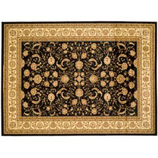 Safavieh Lyndhurst Framed Floral Scroll Rug - 5'3'' x 7'6''