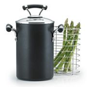 Circulon Contempo 3 1/2-qt. Covered Asparagus Pot with Steamer Basket