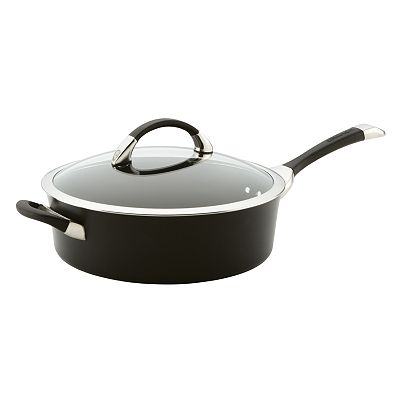 Circulon 5-qt. Hard-Anodized Covered Saute Pan