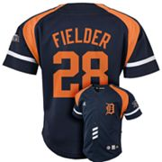 adidas Detroit Tigers Prince Fielder Jersey - Toddler