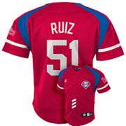 adidas Philadelphia Phillies Carlos Ruiz Jersey - Toddler