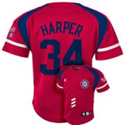 adidas Washington Nationals Bryce Harper Jersey - Toddler