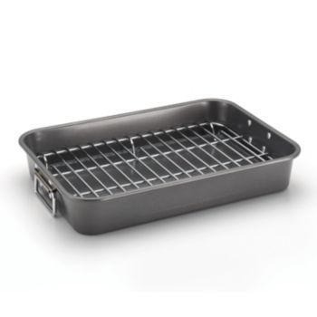 Farberware Nonstick Roaster with Flat Rack