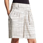 Derek Lam for DesigNation Striped Shorts