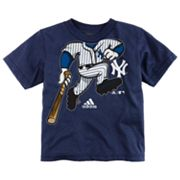 adidas New York Yankees Pinch Hitter Tee - Toddler