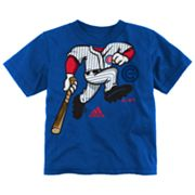 adidas Chicago Cubs Pinch Hitter Tee - Toddler