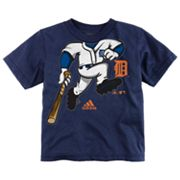 adidas Detroit Tigers Pinch Hitter Tee - Toddler