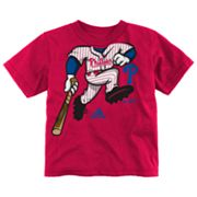 adidas Philadelphia Phillies Pinch Hitter Tee - Toddler