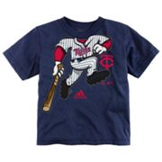 adidas Minnesota Twins Pinch Hitter Tee - Toddler