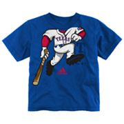 adidas Texas Rangers Pinch Hitter Tee - Toddler
